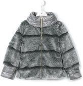 Herno Kids faux fur padded jacket