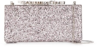 Jimmy Choo crystal-embellished Degrade clutch