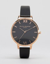 Olivia Burton Black Face Big Dial Watch