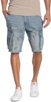 Hudson Jeans Faded Camo Cutoff Denim Shorts
