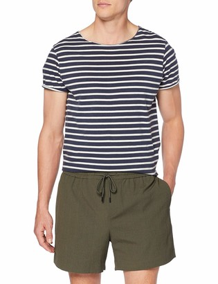 New Look Men's Seersucker Shorts
