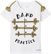 Burberry White Band Practice Print Tee