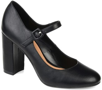 Journee Collection Shayla Block Heel Mary Jane Pump