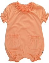 Baby Soy Bubble Romper (Baby) - Cantaloupe-0-3 Months