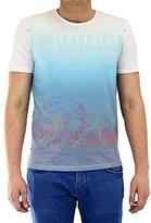 Buffalo David Bitton Men's Nihats Short Sleeve Festival Sublimation Tee Shirt
