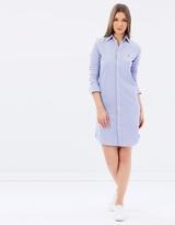Polo Ralph Lauren Knit Oxford Shirt Dress