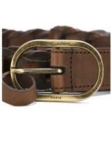 Saint Laurent Braided Belt - Brown - Size 100