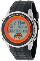 Game Time Oklahoma State Cowboys Stainless Steel Digital Schedule Watch - Men