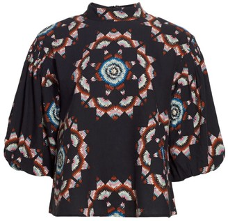 Sea Lindstrom Quilted Long-Sleeve Top