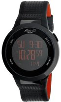 Kenneth Cole New York Unisex KC1698 Digital Black Screen Dial Watch