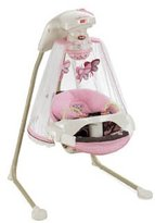 Fisher-Price Cradle 'n Swing Deluxe - Mocha Butterfly