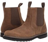 Timberland Squall Canyon Waterproof Side Zip Chelsea (Olive Leather) Men's Boots