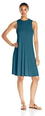 good hYOUman Women's Jamie Mock Neck Dress