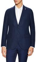 Lubiam Linen Solid Notch Lapel Sportcoat