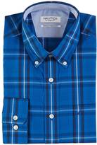 Nautica Classic Fit Wrinkle Resistant Caspian Plaid Shirt