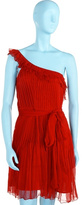 Topshop Pleats and Ruffles Dress