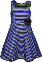 Bonnie Jean Sleeveless Stripe Dress - Preschool Girls 4-6x