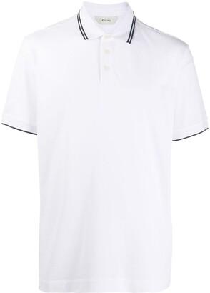 Ermenegildo Zegna logo polo T-shirt