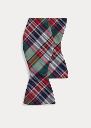 Ralph Lauren Madras Bow Tie