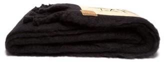 Loewe X Charles Rennie Mackintosh Mohair Blanket - Black