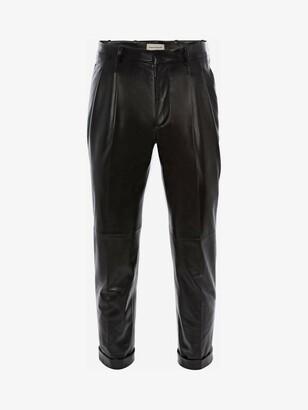 Alexander McQueen Leather Pants