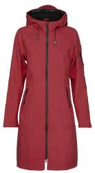 Ilse Jacobsen Long Rhubarb Raincoat - UK 8/DE 34/ US 6