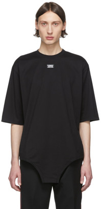 Burberry Black Jersey Logo T-Shirt