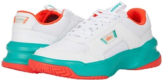Lacoste Ace Lift 0320 1 SFA (White/Turquoise) Women's Shoes