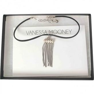 Vanessa Mooney Black Silver Necklaces