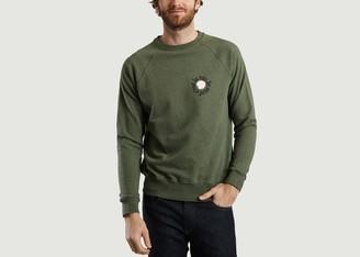 Cuisse de grenouille Guigui Embroidered Sweatshirt - L
