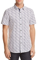 Sovereign Code Culley Splatter Regular Fit Button-Down Shirt