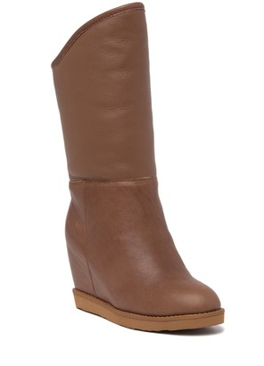 Australia Luxe Collective Genuine Sheepskin Fur Lined Tall Boot