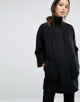 French Connection Harbour Cocoon Coat