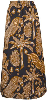 Johanna Ortiz Native Rituals Printed Cotton Skirt