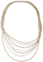 Lauren Ralph Lauren Two-Tone Multi-Chain Statement Necklace