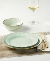 Laurie Gates SHOP THE LOOK Spoleto Green Tablescape