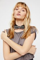 Free People Birthday Suit Embellished Bowtie