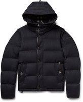 Burberry Water-Repellent Quilted Cashmere Down Jacket