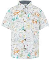 Monsoon Sketch Print Shirt