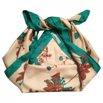 Prada Ecru Silk Scarves