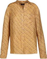 Isabel Marant Tundra printed silk shirt