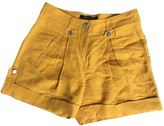 Roberto Cavalli Yellow Shorts for Women