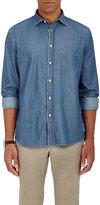 Hartford Men's Paul Cotton Denim Shirt