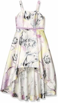 Speechless Girls' Sleeveless High-Low Party Dress
