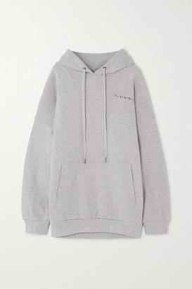 Ksubi 4 Star Printed Cotton-jersey Hoodie - Gray