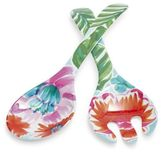 Sur La Table Tropical Melamine Servers, Set of 2