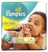 Pampers New Baby Nappies Size 3 - 29 Nappies