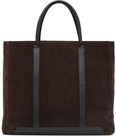 Reiss Tanner Leather Tote Bag