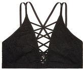 Victoria's Secret Victorias Secret Unlined Palm Lace Cage Bralette