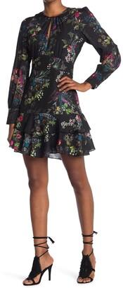 Parker Long Sleeve Keyhole Dress